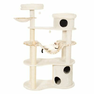 Cat Tree Scratching Post Activity Centre Bed Toys Scratcher New White Tiger XXL