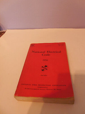Collector's 1956 Paperback NFPA 70 National Electrical Code Book