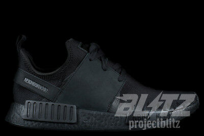 check out c4fec f3b76 ADIDAS NMD R1 PK NBHD NEIGHBORHOOD Sz 8-12 TRIPLE BLACK BB9245
