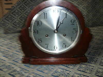 nice old mantle clock working order