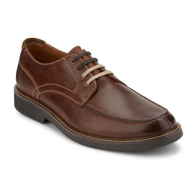 Dockers Mens Midway Leather Dress Casual Lace-up Oxford Shoe with NeverWet
