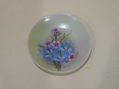 Vintage Hand Painted Alva Gooden Small Wall Plate.