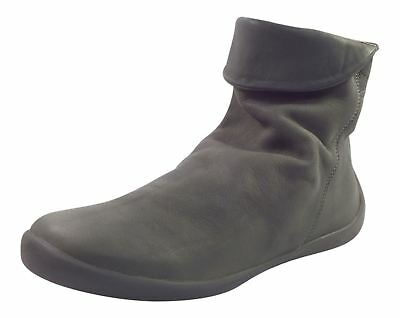 Softinos Iggy 269 Womens Soft Leather Navy Slouch Boots UK Size 3-8