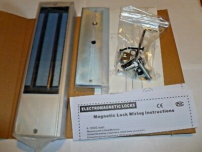 10020 Monitored Standard Series Electro Magnetic Lock (maglock) Double NEW