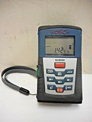 Bosch GLR225 Precision Digital Laser Distance Measurer - Free Shipping