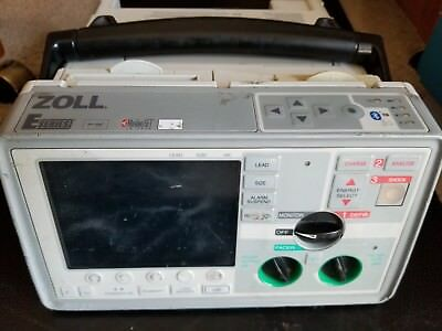 Zoll E series  ECG, SpO2, AED, Pacing, and CO2  (no leads)