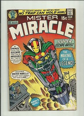 Mister Miracle # 1 - 1st appearance VG/FN Condition 1971 Vintage Jack Kirby