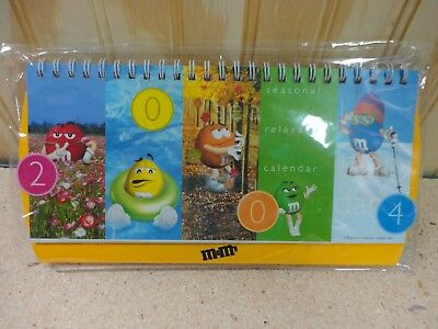 M&M / M&M's New Sealed Calendar - Don't know what Year