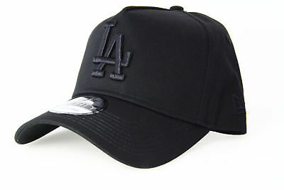 6662b08a959 NEW ERA - Los Angeles Dodgers - 9FORTY A-Frame - Black Black ...