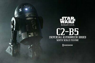 Sideshow Star Wars Rogue One C2-B5 Imperial Astromech Droid 1/6 Scale Figure