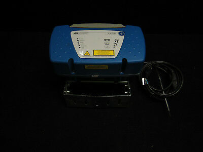 Axiom Accu-Sort Industrial Laser Barcode Scanner W/ Ps 4024 Power Supply