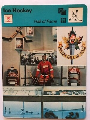 Sportcaster Rencontre Sports Card - Ice Hockey - Hall Of Fame!