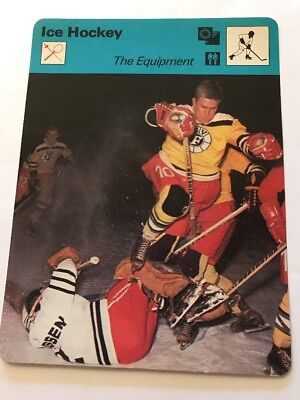 Sportcaster Rencontre Sports Card - Ice Hockey - The Equipment!