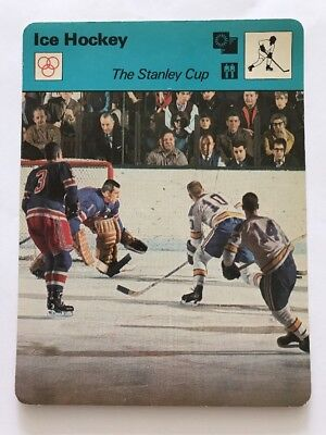 Sportcaster Rencontre Sports Card - Ice Hockey - The Stanley Cup !