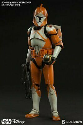 Star Wars Sideshow Collectible Clone Trooper Bomb Squad 1/6 Action Figure