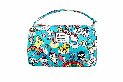 Ju-Ju-Be Tokidoki x Hello Kitty Collection Be Quick Wristlet, Rainbow Dreams