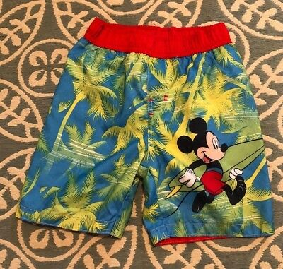 a4e4a784d2 Mickey Mouse Swimming Trunks - Toddler Boys Size 3T - Swimwear - Disney