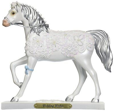 The Trail of Painted Ponies Wedding Wishes White Horse Figurine 4046325 New Pony