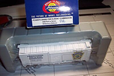 Ho Scale 2004  Athearn Pa. Fish & Boat Commission Wilderness Editions