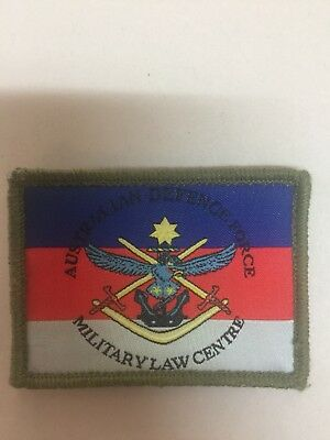 Military Australian defense Force Military Law Centre Patch