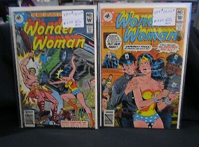 1979 Wonder Woman Comics Lot Of (2) 259-260