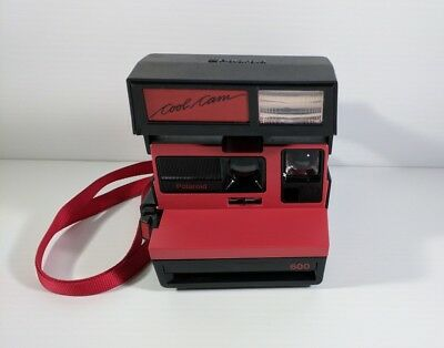 Polaroid Cool Cam Red Instant Camera Film Tested