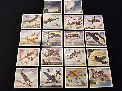 1940's AMERICA'S FIGHTING PLANES IN ACTION Card Set from Coca-Cola - 18 of 20