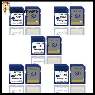 16M 32M 64MB 128M 256M 512MB 1GB 2GB SD Card Secure Digital Sdandard Memory Card