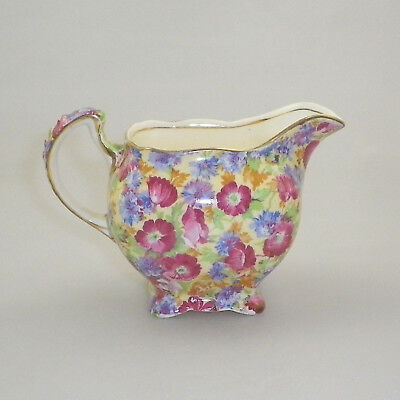 Vintage Royal Winton Grimwades Chintz Milk Jug - Royalty (Older)