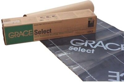 "Ft. Grace Ice /& Water Shield Roofing Underlayment 36/"" x 66.6/' Roll 200 Sq"