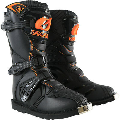 Oneal NEW 2019 Kids Mx Rider Dirt Bike Cheap Black Orange Youth Motocross Boots