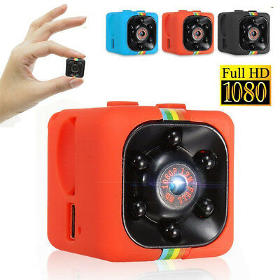 SQ11 Mini Camera HD Camcorder Night Vision 1080P Voice Video Recorder DV Cam