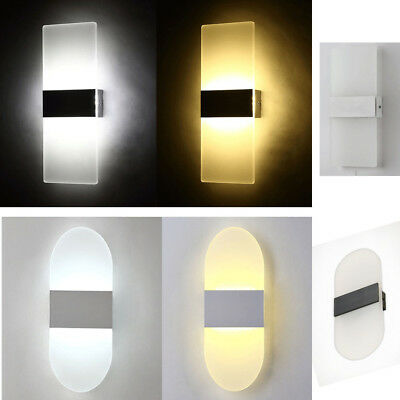 New LED Wall Light Up Down Wall Lamp Sconce Lighting Light Fixture Home Decor AU