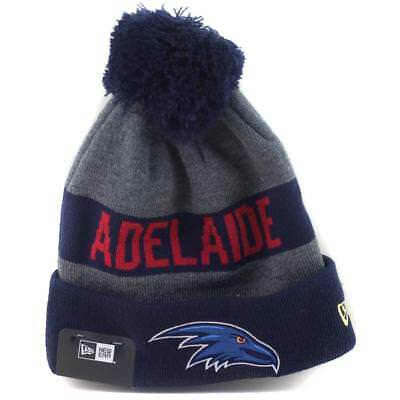 Adelaide Crows Football Club AFL Supporter Beanie From NEW ERA