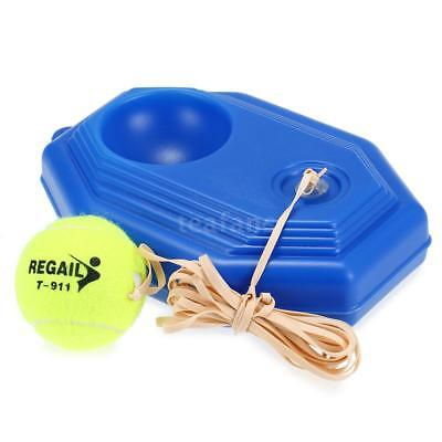 Tennis Trainer Practice Training Tool Baseboard Exercise Rebound Ball with P8G9