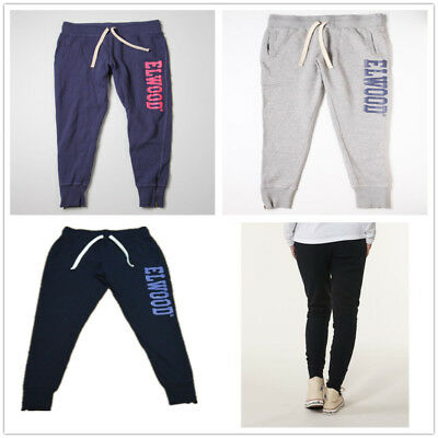 Elwood Womens Huff and Puff Fleece Track Pants Sport Running Tracksuit Bottoms