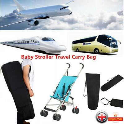 Pram Gate Check Travel Bag Umbrella Stroller Pushchair Buggy Waterproof Bag cckk