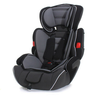Black Toddler Baby Car Seat  Kid Children Convertible Safety Booster Seat