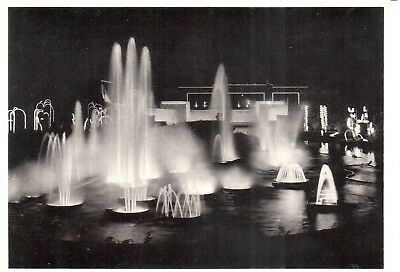 Carte Postale - Liège - CP - Fontaines Lumineuses