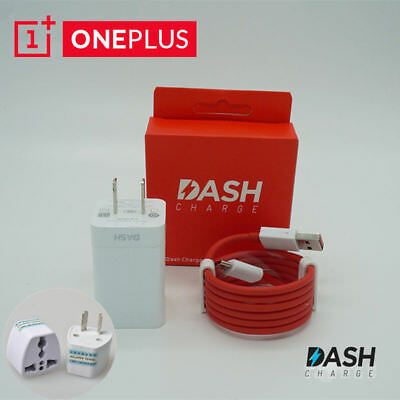 Official Fast Wall Adapter Dash Charger For Oneplus 5T 5 3T 3 Type-C 5V/4A Cable