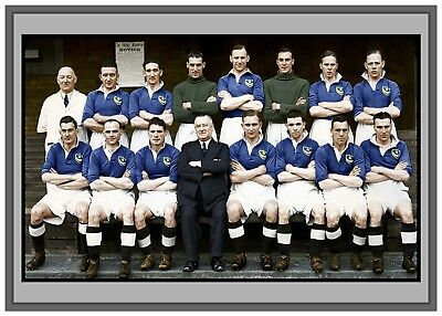 Collectors/Photograph/Print/7 x 5 Photo/Portsmouth 1939 FA Cup Winners