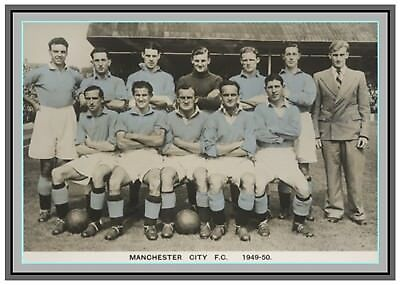 Collectors/Photograph/Print/7 x 5 Photo/Manchester City 1949/50 Season