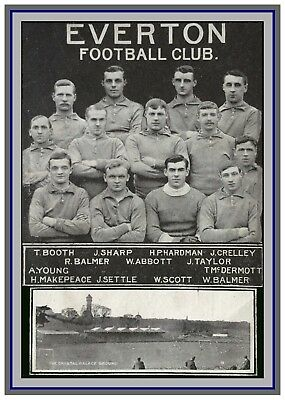 Collectors/Photograph/Print/7 x 5 Photo/Everton 1906 FA Cup Winners