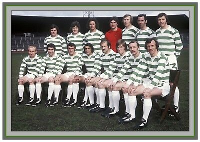 Collectors/Photograph/Print/7 x 5 Photo/Celtic 1974/75 Season Team Picture