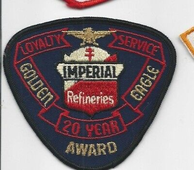 Imperial Refineries 20 year Loyalty patch WS