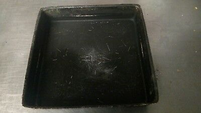 "(1) Very Used 12"" x 12"" Square Little Caesar Pizza Pan!!!"