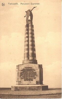 carte postale - Ypres - leper - CPA - Poelcapelle - Monument Guynemer