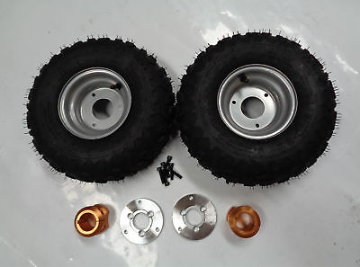 6Inch Wheel With Hub & Adapter For 40Mm Axle Pair