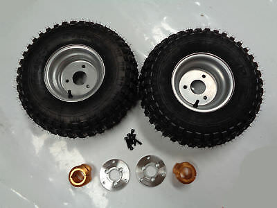 7 Inch Wheel With Hub & Adapter For 40Mm Axle Pair