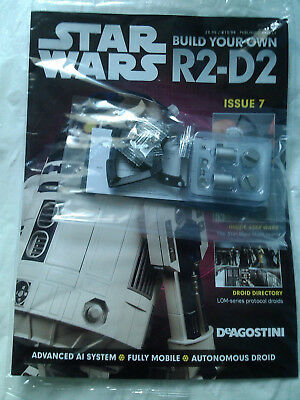 DEAGOSTINI STAR WARS - Build Your Own R2-D2 Issue 7 Sealed With Parts